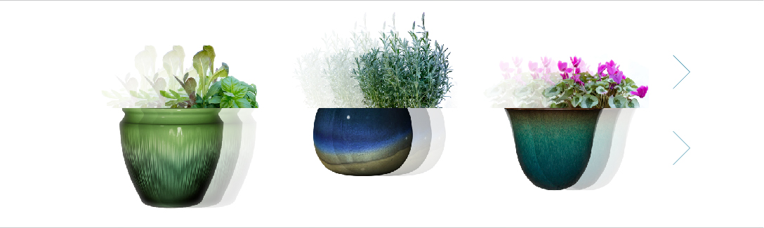 Trendspot   Trend-Right Planters and Garden Decor